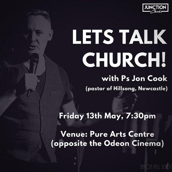 Lets Talk Church - Friday 13 May