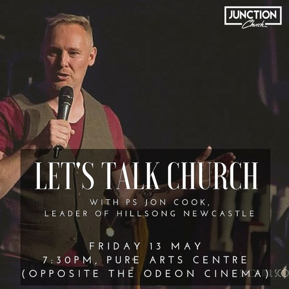 Lets Talk Church - Friday 13 May