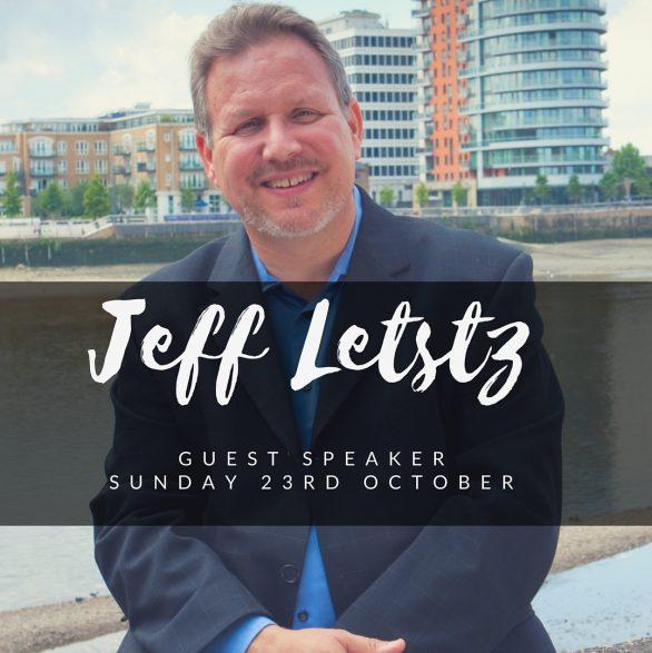 Jeff Lestz <div>Sunday 23rd October</div>